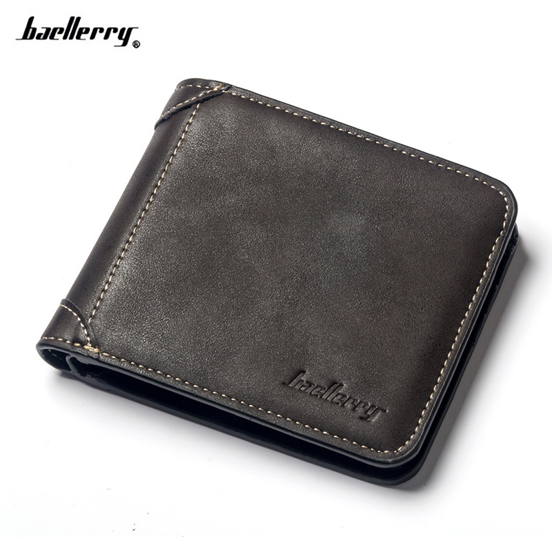 Famous Brand Men Wallets classic short Purses for Male Carteira Men's Wallets vintage designer's card holder hot sale leather men s wallets famous brand casual short purses male small wallets cash card holder high quality money bags 2017