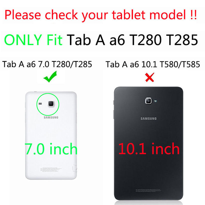Para Samsung Tab a6 7.0 2016 Funda Para Samsung Galaxy Tab A 7.0 T280 - Accesorios para tablets - foto 2