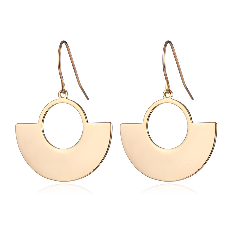 Long drop earrings jewelry for women brincos 2018 Gold Silver Color Women Accessories Pendant Earrings Female in Drop Earrings from Jewelry Accessories