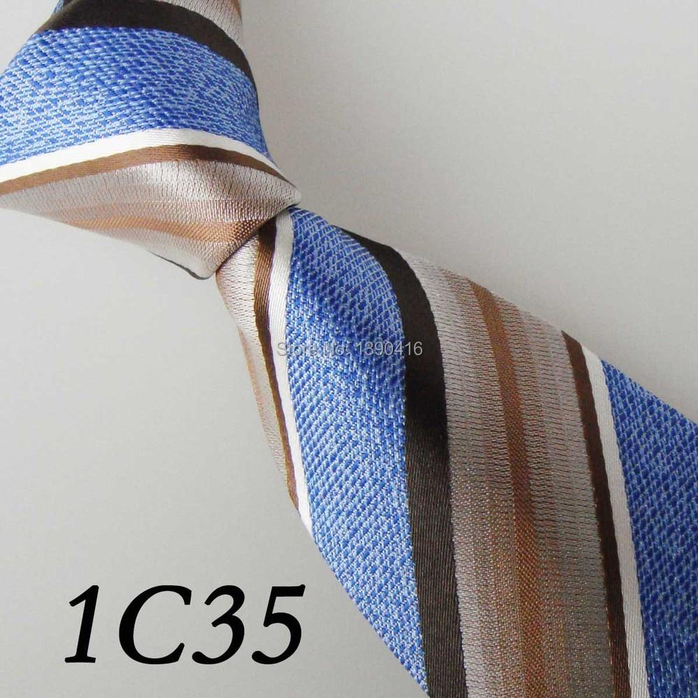3b5c99212 2018 última versión hombres tie off Blanco marrón Camel cian blanco rayas  corbata lazo elegante y diseñador y lazo para los hombres y los hombres  corbatas