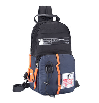 Men Multipurpose Zipper Backpack