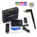 Receptores de satélite tv receptor freesat V8 Super apoio FTA DVB-S2 Biss Key Youporn newcam 3G IPTV + 1 ano europa Cccam Servidor