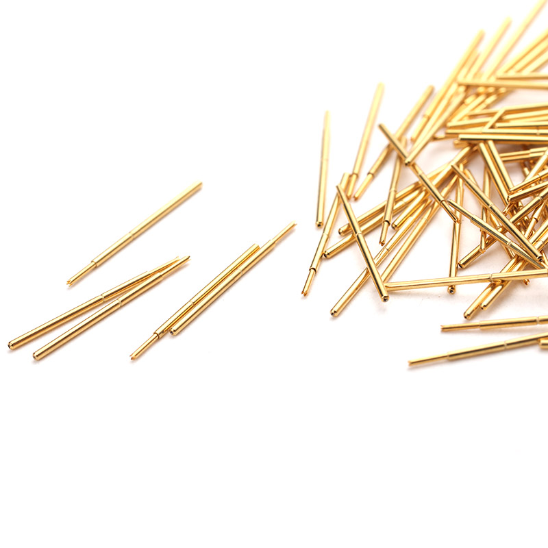 Spring Test Probe PA50 Q1 Metal Durable Brass Test Probe Casing Length 16 55mm Safe Household Convenient Test Tool 100 PCS in Springs from Home Improvement
