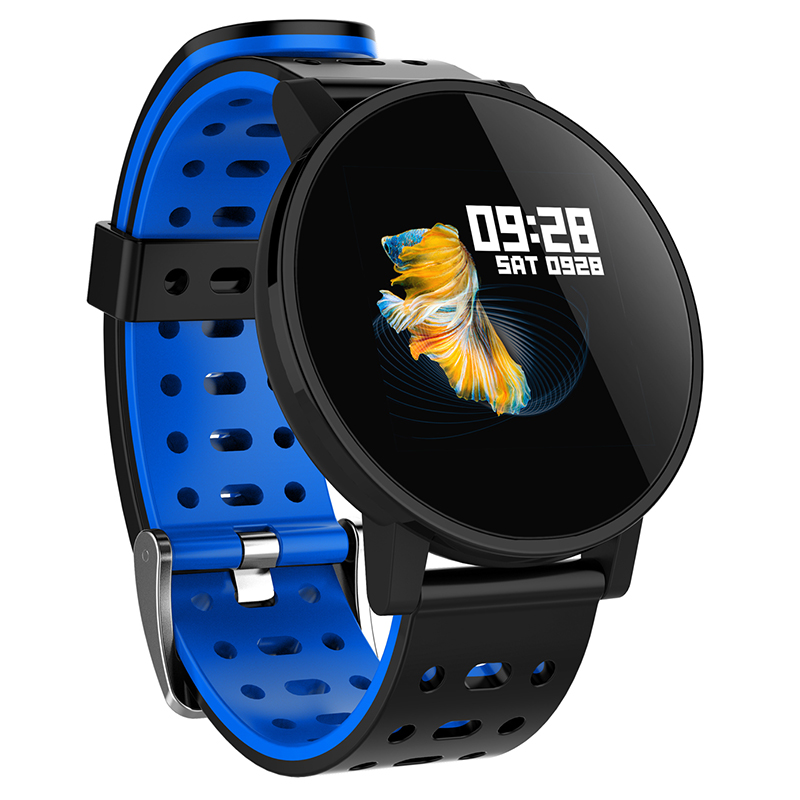 Q9 Smartwatch IP67 Waterproof Wearable Device Bluetooth Pedometer Heart Rate Monitor Color
