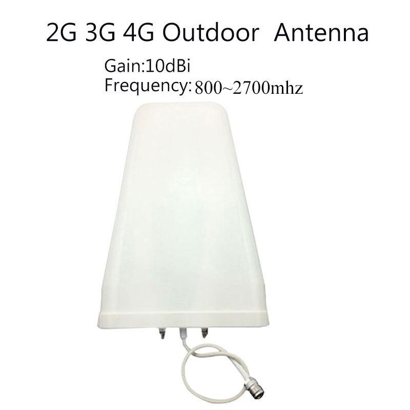 Répéteur Lintratek GSM 900 LTE 1800 amplificateur de Signal cellulaire pour téléphone portable 65dB 2G 4G GSM DCS répéteur de téléphone portable antendor Antena - 5
