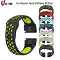 Horlogeband Sport Band voor Garmin Fenix 5X/5 XPlus/6X/3 HR/D2 Bravo Smart Horloge armband Band 26mm Siliconen Quick Fit Polsband