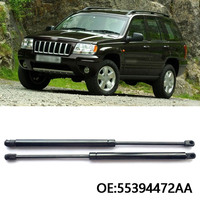 New Front Hood Boot Gas Struts Shock Struts Spring Lift Supports For Jeep Grand Cherokee 2005 2010