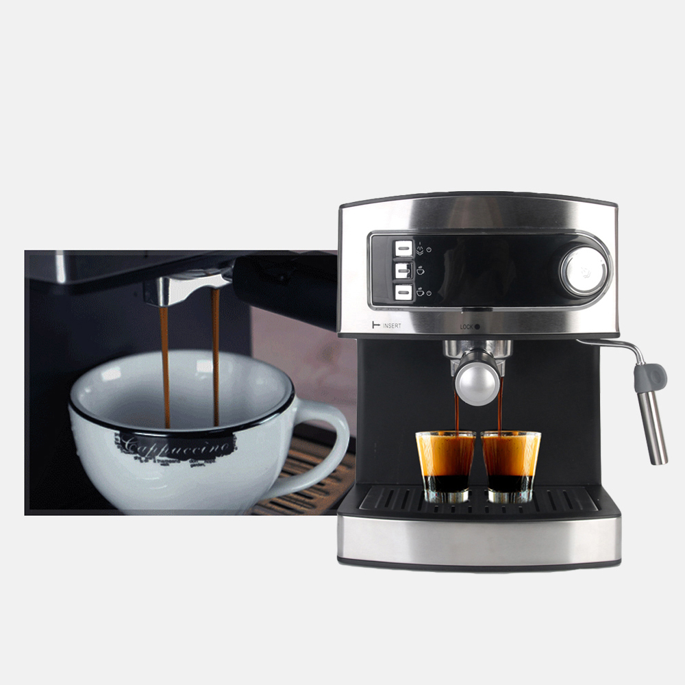 ITOP Coffee Machine Espresso Coffee Maker With Cappuccino System Italian 20 Bar Pressure Espresso Coffee Machine md2007 muti function full automatic italy type espresso cappuccino coffee maker machine with high pressure steam for home use