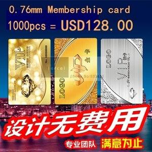 Image 3 - بطاقة مخصصة من الكلوريد متعدد الفينيل 1000 بطاقة VIP وبطاقات عضوية بلاستيكية مع شعار التذهيب/اسم الرقم التسلسلي للطباعة على بطاقات الأعمال