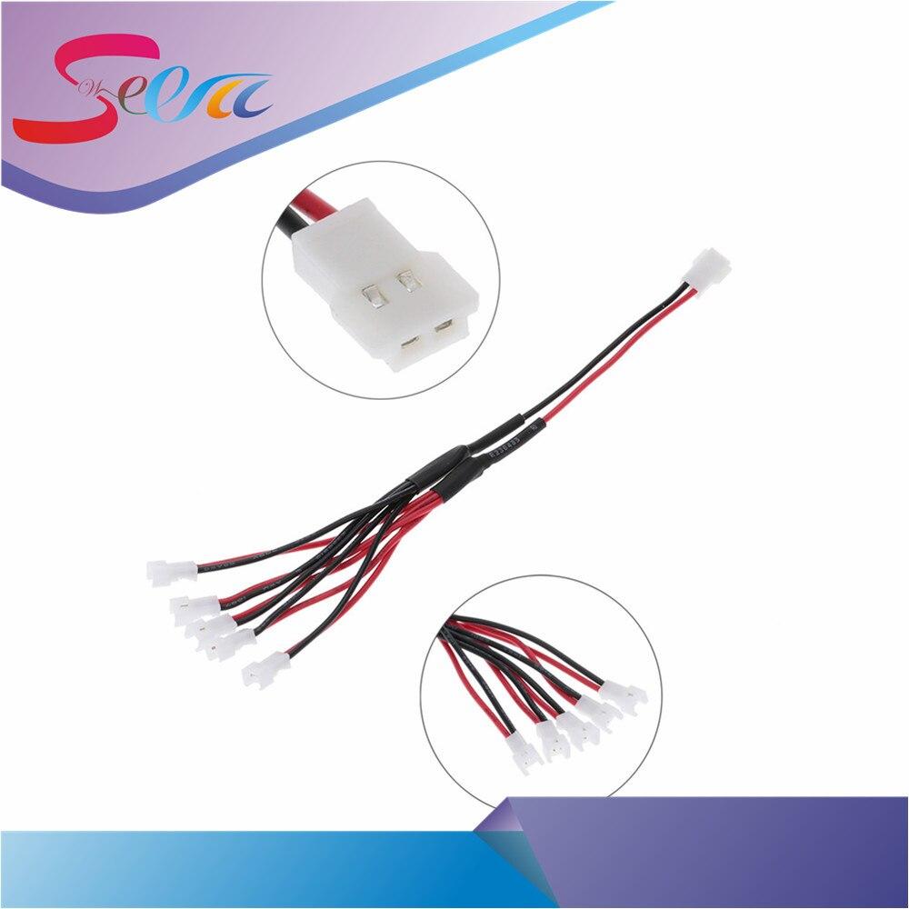 1 преобразования 5 lipo Батарея баланс Зарядное устройство преобразования кабель для зарядки линии для jjrc h20 Cheerson CX-10