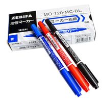 CCL Anti-etching PCB circuit board Ink Marker Double Pen For DIY PCB(Red, Blue, Black)