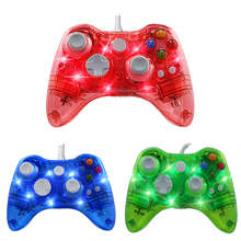 цена на ViGRAND USB Wired Joypad Controller Joystick for Microsoft Xbox 360 Gamepad with PC for Windows 7/8/10 Gamepads for Xbox360