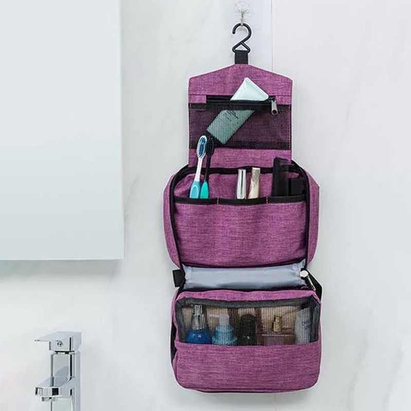 Hanging Travel Toiletry Bag For Men And Women Makeup Bag Cosmetic Bag Bathroom And Shower Organizer Toilettas