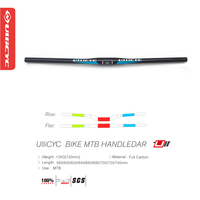 Ullicyc Bule Carbon Mountain Bike Bicycle Handlebar Carbon Handlebar MTB 3k Glossy 31 8 600 640