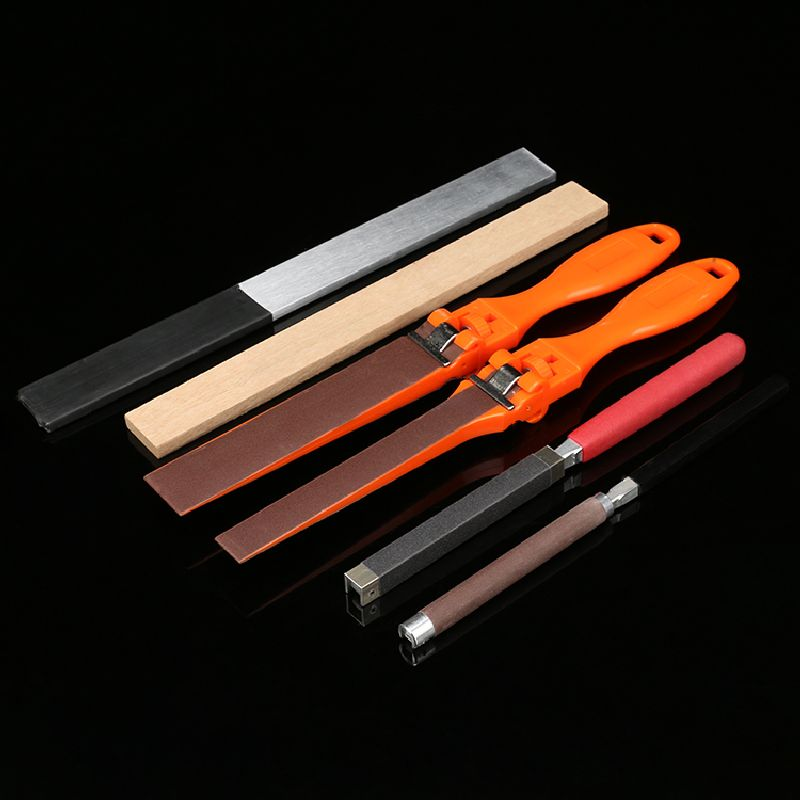 Hand Tool Parts Metal Abrasive Paper Clips Sand Paper Roll Bar Sanding Paper Sticks Grinding Polishing Abrasive Tools vertical type abrasive belt machine polishing grinding small bench 915 sand belt