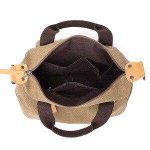 Image 4 - New Women Bag Canvas Handbags Messenger bags for Women Handbag Shoulder Bags Designer Handbags High Quality bolsa feminina