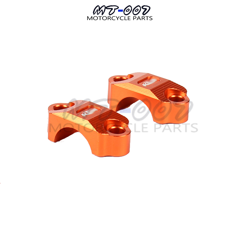 Orange CNC Billet Brake Clutch Control Clamp For KTM 65 85 125 200 250 300 350 450 500 525 530 SX SXF XC XCW XCF EXC EXCF EXCR 4 directions foldable pivot clutch lever for ktm exc excf excr xc xcf xcw xcfw sx sxf days dirt bike motorcycle free shipping