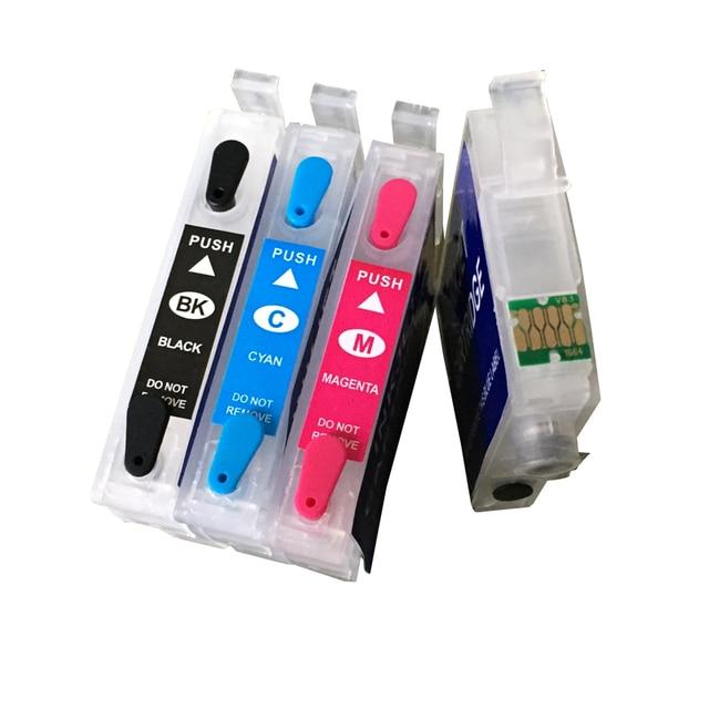 4pcs/lot Best Price Refillable Ink Cartridges T1661 T1662