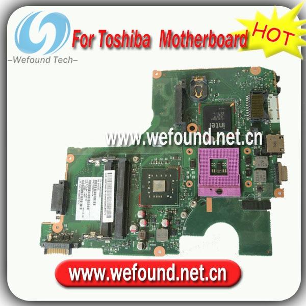 все цены на  100% Working Laptop Motherboard for toshiba V000258030 C600 C605 Series Mainboard,System Board  онлайн
