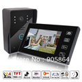 "7"" Wireless Video Door Phone Doorbell Intercom with IR Camera Rainproof"