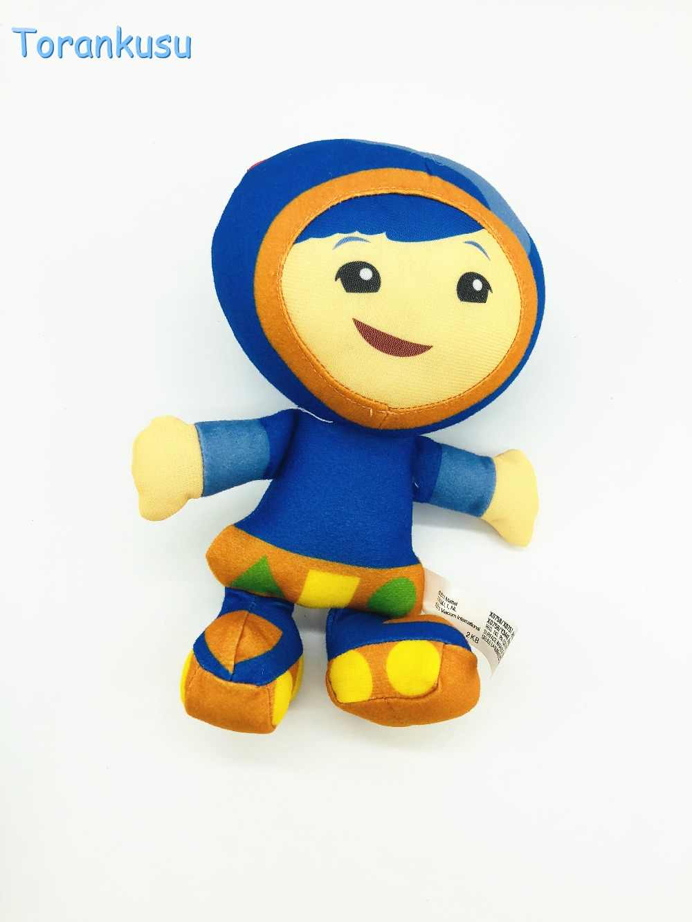 Team Umizoomi Counting City S Little Brother And Sister Bot Milli Geo Plush Doll Toys For Kids Children Christmas Gift 20cm