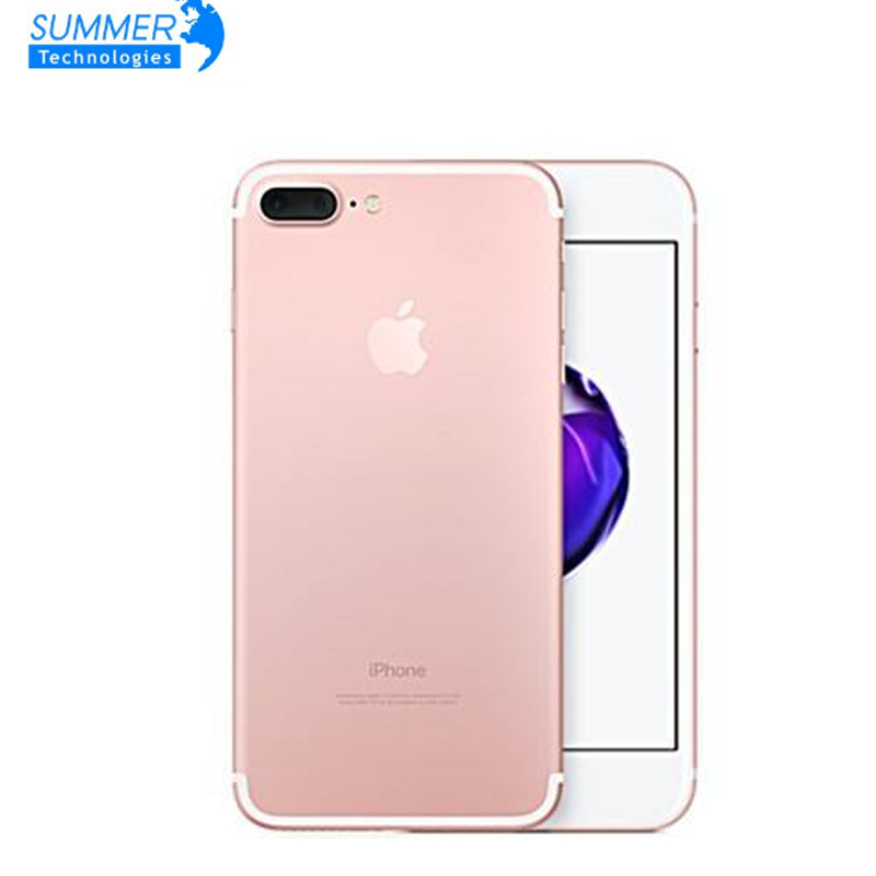Impressão digital smartphone apple iphone 7 plus quad-core 5.5 polegada 3 gb ram 32/128 gb/256 gb ios lte 12.0mp câmera iphone7 plus