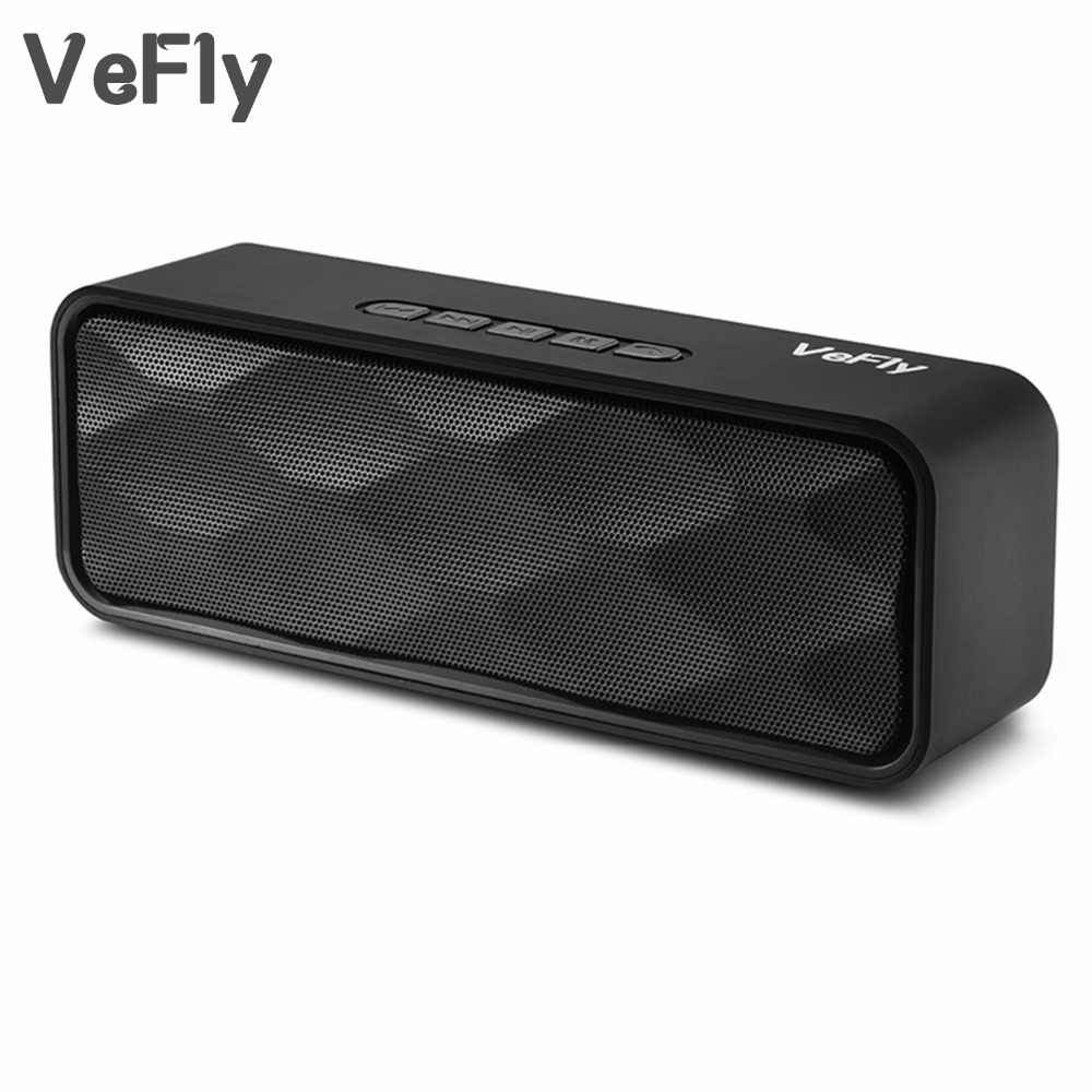 vefly 4 2 bluetooth speaker hi fi portable wireless box. Black Bedroom Furniture Sets. Home Design Ideas