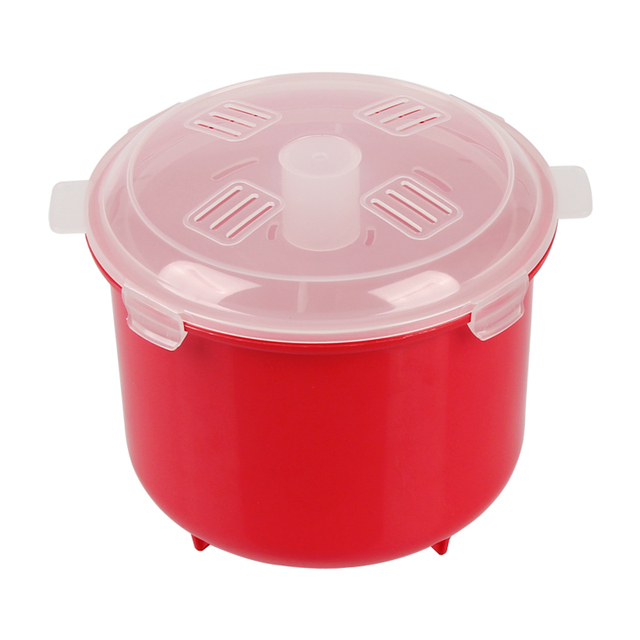 Plastic Microwave Rice Steamer Bowl cooking ware