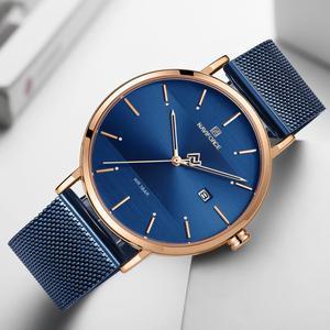 Image 5 - Luxus Marke Uhren Set NAVIFORCE Einfache Art Und Weise Männer Frauen Armbanduhr Casual Wasserdichte Männliche Damen Paar Quarz Uhr