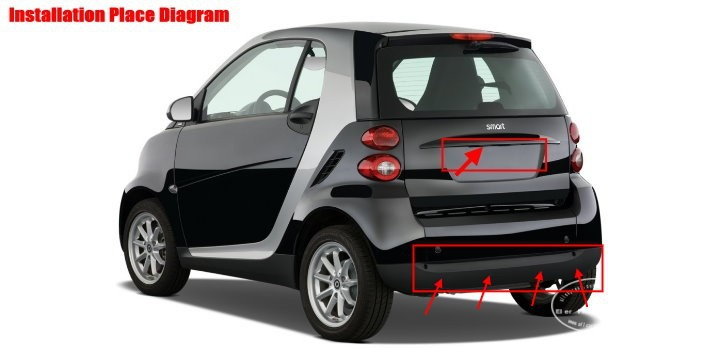 Smart-Fortwo-BIBI Alarm Parking System