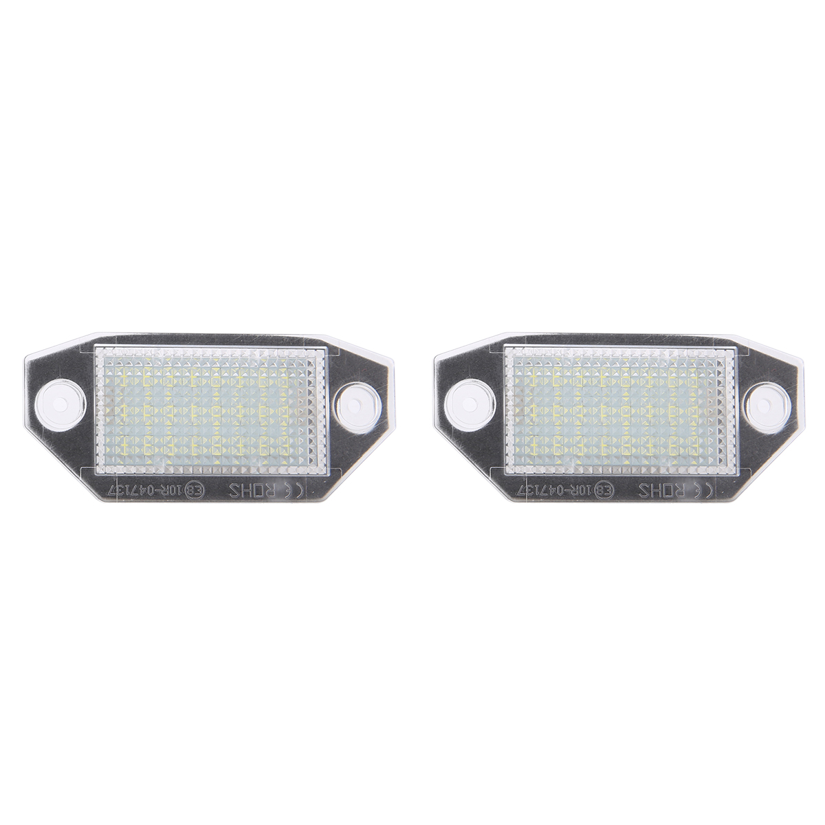 2pcs set 12V 24LED White Number License Plate Light Built in Canbus Controller Lamp Fit For Ford Mondeo MK3 2000 2007 in Signal Lamp from Automobiles Motorcycles