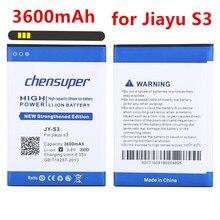 Chensuper 3600 мАч JY-S3 Батарея JY S3 для Jiayu S3 Батарея jiayus3 Глобальный по всему миру