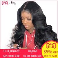 250% плотность предварительно сорвал полный кружево натуральные волосы Искусственные парики для Женский, черный Бразильский Glueless Полный