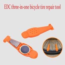 купить 6 color bicycle tire repair kit bicycle tire film glueless mountain bike tire inner tube repair combination tool по цене 158.27 рублей