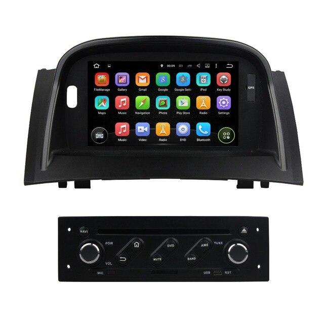 Quad Core 7 Android 51 Radio Samochodowe Dvd Gps Dla Renault