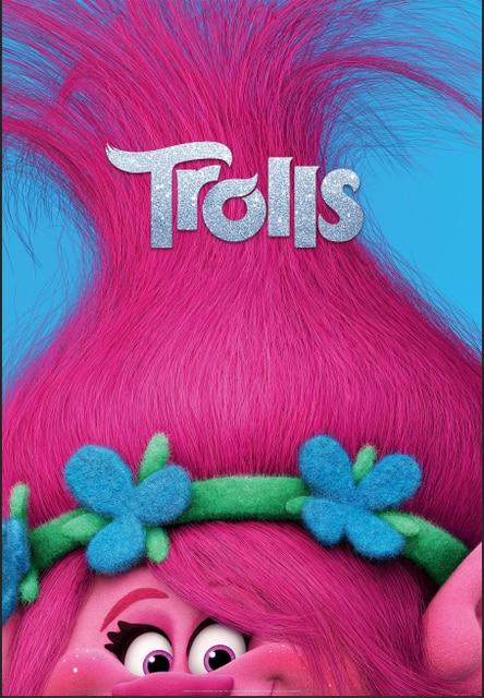 5x7FT Good Luck Trolls Poster Poppy Hair Custom Photo ...