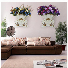 European Angel Resin Vase, Wall Home decoration