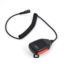 PTT Speaker Mic Microphone For Baofeng Ham Handheld Two Way Radio Walkie Talkie uv-5r 888s