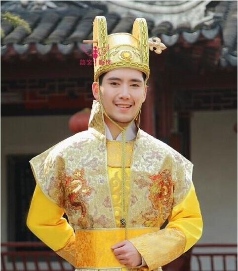 00002 Original Vintage Chinesischen Kaisers Oder Prinz Haar Krone Haar Stück Haar-accessoire Billigverkauf 50%