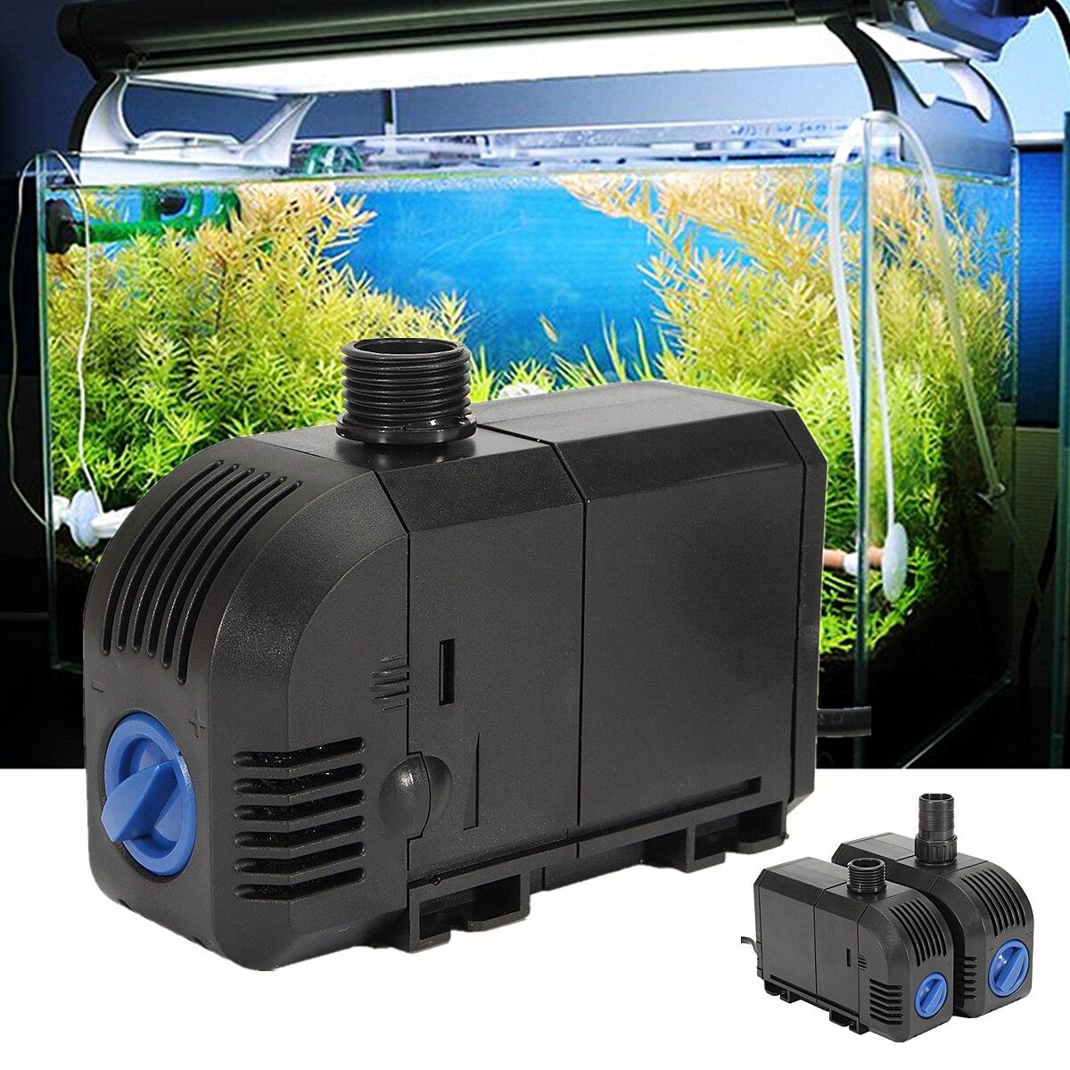 20W/25W AC 220-240V Electric Submersible Water Pump Aquarium Fish Tank Pool Pond Garden Fountain Water Pumps 900-1500L/H 12w submersible aquarium water pump 220 240v 50hz