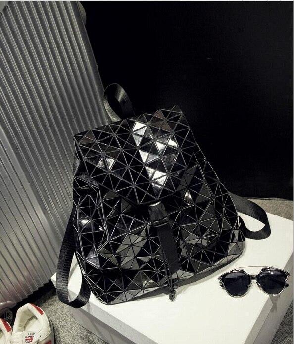9526104fc BaoBao Diamond Woman Drawstring bag Issey Miyak Laser female bag mirror  stereo BAOBAO folding bag Shoulder bag with logo Tags: