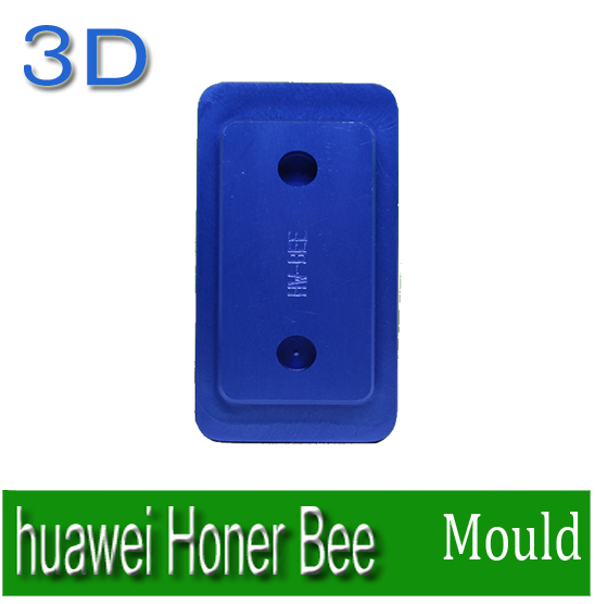 Heat transfer mould Solid Aluminium Alloy 3D heat press Phone case Mould for huawei Honer Bee  solid aluminium alloy 3d heat press phone case mould for huawei ascend p6