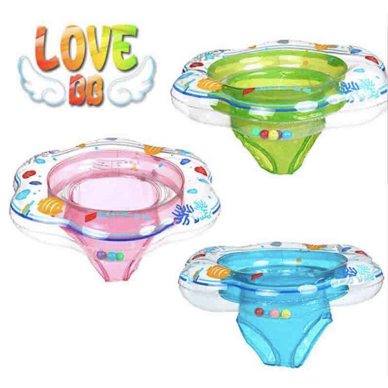 Baby svømning Børnebarn under armhulen Opblåsbar svømmetur til baby Vandbørnsæde 52 * 21cm