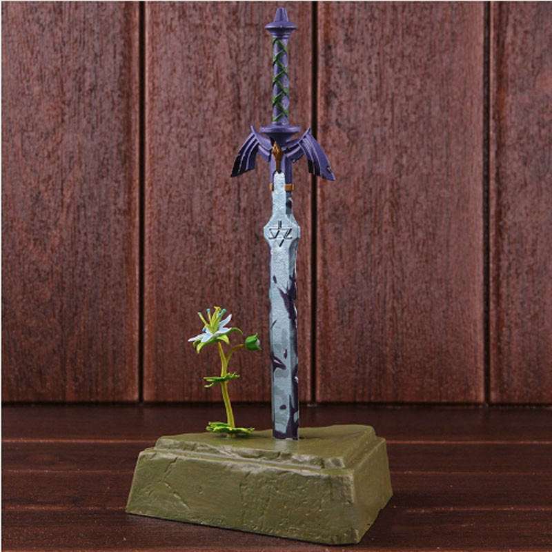 The Legend Of Zelda Breath of the Wild Master Sword Skyward Sword Legend of Zelda PVC Action Figure Collectible Model Toy 26cm magnus chase and the sword of summer