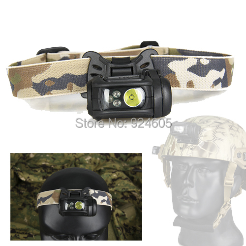 TRIJICON New Arrival Military 3 Led Modular Personal Lighting System For Helmet Head Paintball Accessory HS15-0065