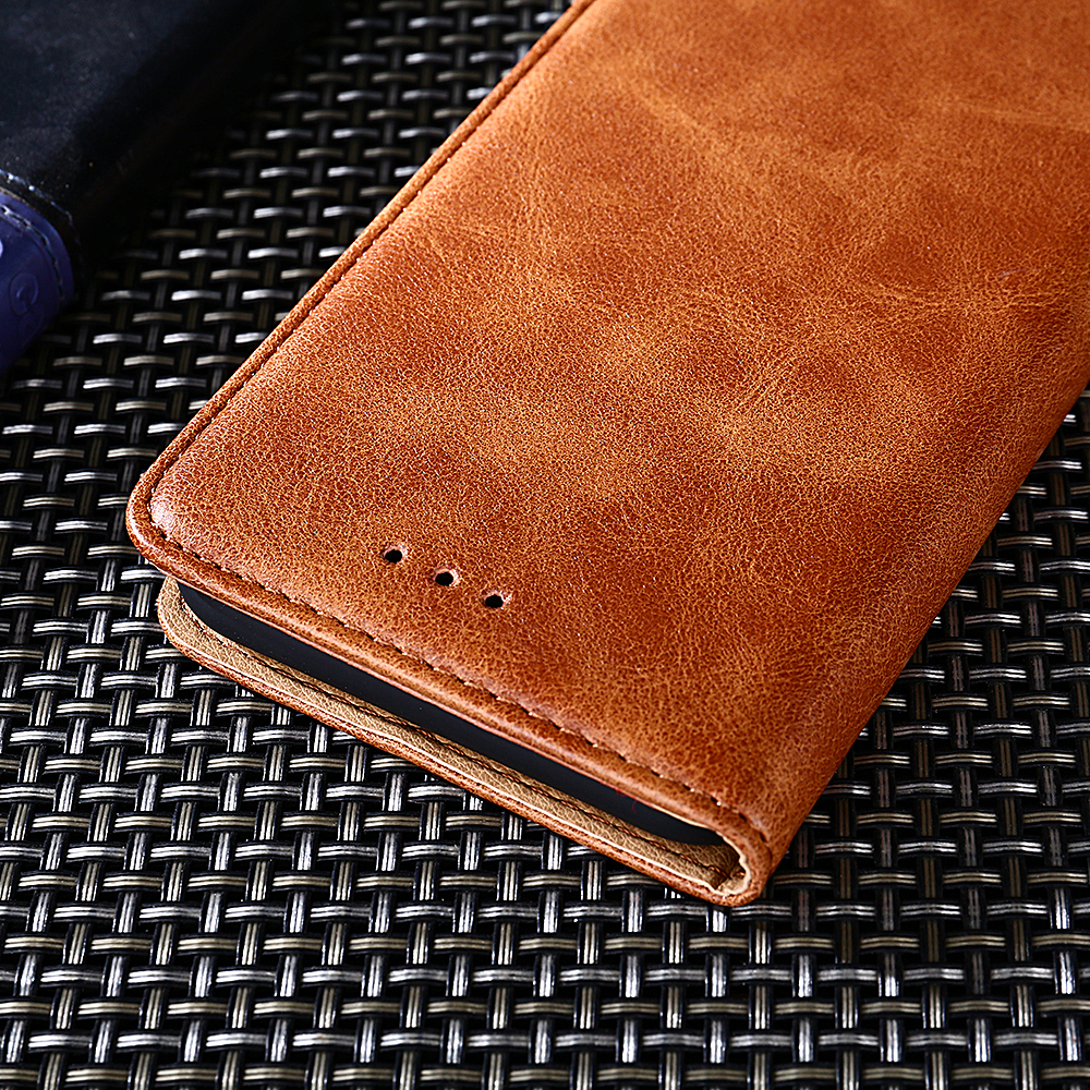 For Oukitel C12 Pro C8 Mix 2 Case Cover Flip Luxury Leather Silicone Stand Cover For Oukitel U22 U18 PU With Card Holder Fundas in Flip Cases from Cellphones Telecommunications