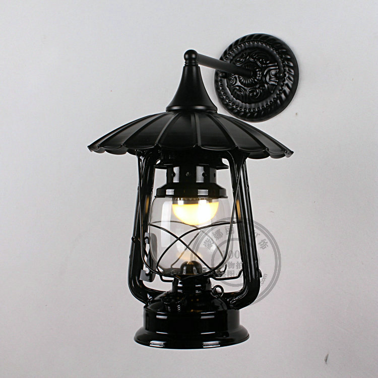 цены Continental retro creative aisle wall waterproof outdoor outdoor courtyard lamp wall lamp bathroom balcony lamp lantern FG239