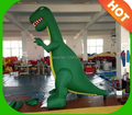 Hot 3m H Green Inflatable  Dinosaur for Advertisement