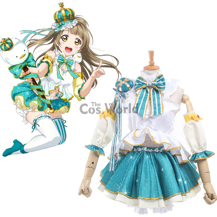 LoveLive! Love Live Minami Kotori Snowflake Dresses Uniform Outfit Anime Cosplay Costumes