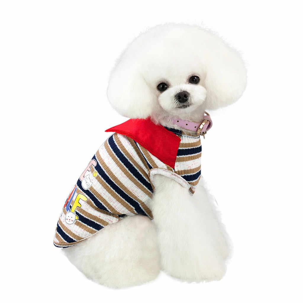 2019 Новая летняя Весенняя футболка с щенком и котом, жилет, рубашка, костюм для мелких животных, костюм для чихуахуа, французского бульдога
